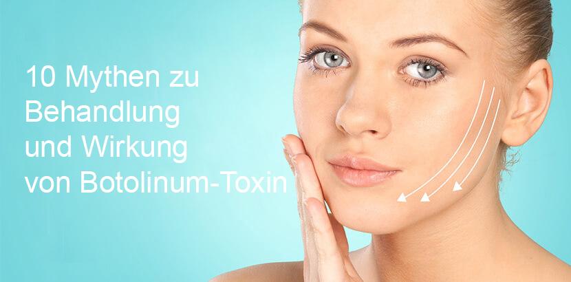 10 Mythen zu Behandlung und Wirkung von Botolinum-Toxin
